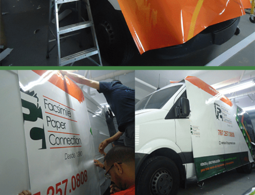 Vehicle Full Wrap Design for Lexmark