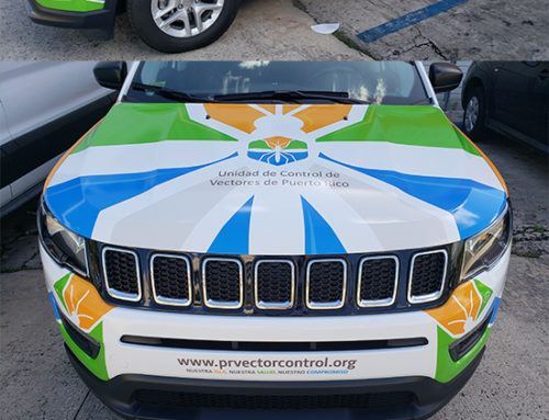 Vehicle Full Wrap Design for PRVCU